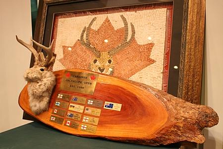 The famous Jackalope trophy.