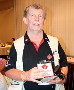 Division 3 winner John Gibson.