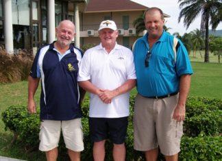 Max Bracegirdle, Graeme Preston & Graham Rice.
