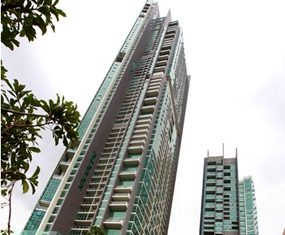 Raimon Land's luxurious 'The River' condominium project in Bangkok.