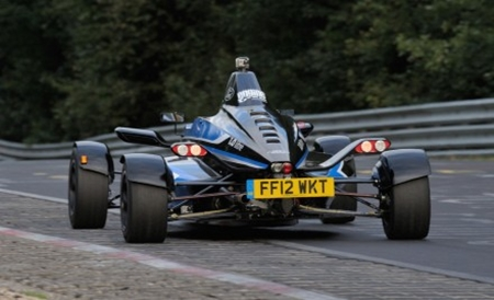 A baby Ford in there