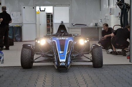 What the Lamborghini saw