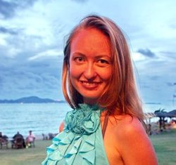 Irina Kirsanova - international sales manager for Kingdom Property.