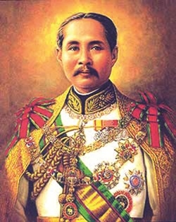 HM King Chulalongkorn the Great.