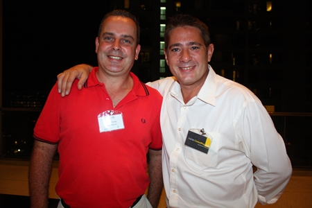 Mike Davey, Project Manager, Hallin Marine and Mike Lucas, CEO, Lucas Consulting.