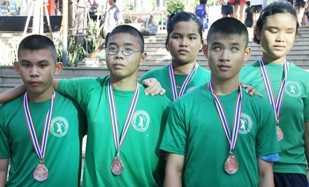 Participants in the 2012 Pattaya Marathon.