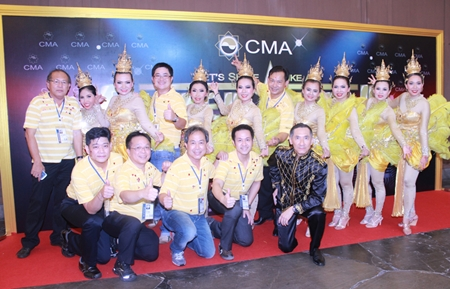 Thai Country Show by CMA 14 members, led by Pradit Pattaraprasit; Assoc. Prof. Marnvipa Indharatat; Laikram Lertwitayaprasit; and Dr. Srikanya Yathip.