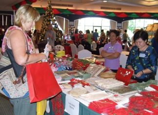 It's always festive at the annual PILC Christmas Bazaar, which this year celebrates 20 years.