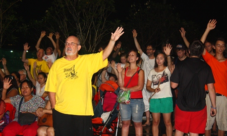 Christians from far and wide traveled to take part in Pattaya Praise 2012.