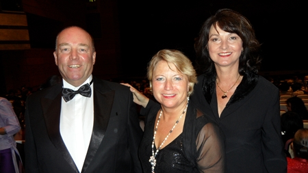 (From left) The German Ambassador Rolf Schulze, State Minister Cornelia Pieper and Mrs, Petronella Schulze.