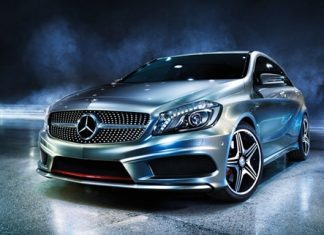 New A-Class from Mercedes-Benz.