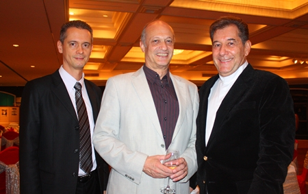 Christoph Voegeli, Philippe Delaloye and Hans Spoerri represent GMs the world over.