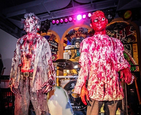 Staff at the Hard Rock certainly outdo themselves on Halloween.