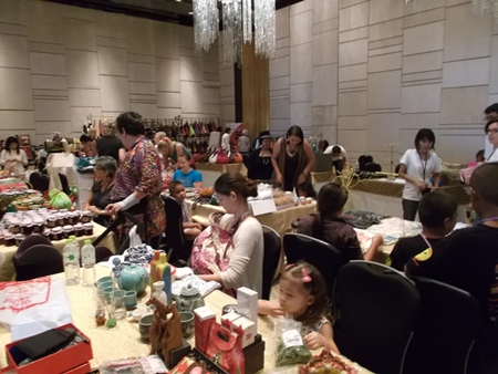80 vendors attended the PILC Annual Bazaar to sell their products.