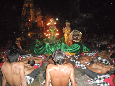 "Bali's mesmerizing Kecak dance, or ""monkey dance"" is a must-see."