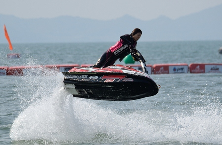 World class jet-ski action coming to Pattaya from Dec. 5-9 at Jomtien Beach.