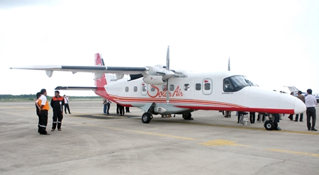 Solar Air's new Dornier 228 that will be used on the new routes.