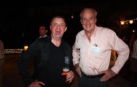 Paul Strachan and Dr. Iain Corness.