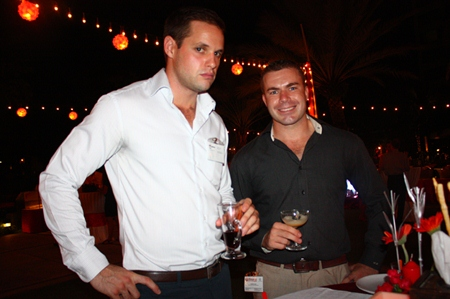 Andrew Ross, Communications Coordinator, The American School of Bangkok and Andrew Ross, Wine Distributor, Wines-Warehouse.
