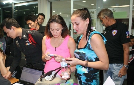 Irina Lyubaykina and Elena Klepechina have been arrested for an alleged rampage at a South Pattaya 7-Eleven.