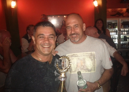 Cheers Bar – winners of the last 9-Ball Pool League.