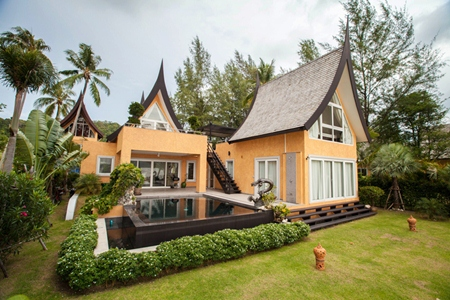 A villa at the award winning Siam Royal View Koh Chang Marina.