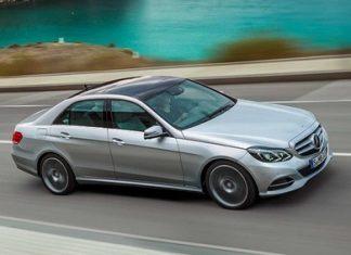 E-Class Mercedes-Benz.