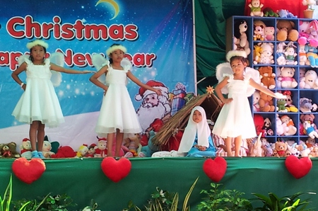 The Christmas season always starts with the Fountain of Life Children Center's pageant.