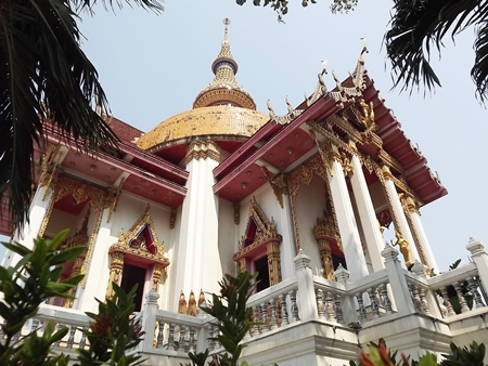 South Pattaya's Wat Chaimongkol Wat Phra Aaramluang has been designated a royal temple.
