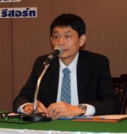 Danai Egkamol, director of the Department of Alternative Energy Development and Efficiency.