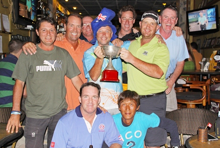 The R.O.W. team - 2013 Mulberry Ryder Cup winners.