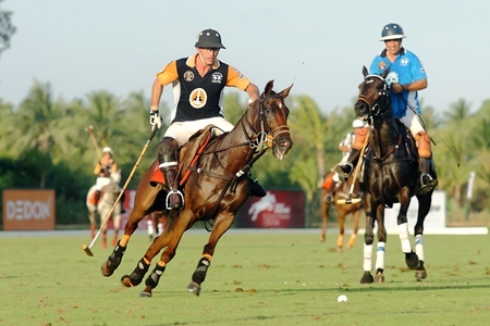 Enjoy a great day of sporting and social entertainment at the Thai Polo Club on Saturday, Jan. 19.