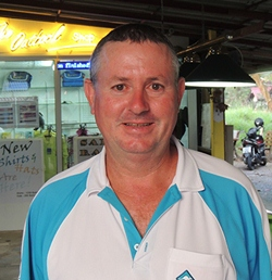 Murray Hart leads the 'Race to Bangkok' standings.
