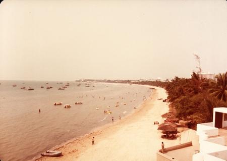 Pattaya Bay circa 1991.