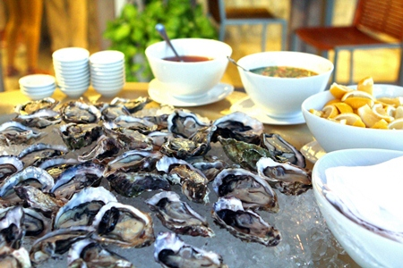Seafood BBQ buffet at Pullman Pattaya Hotel G.