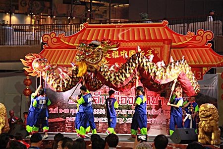 The Engko committee from Bangkok will be performing their dragon and lion dances for Pattaya Chinese New Year this weekend in Pattaya & Naklua.
