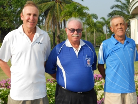 (Left to Right): Doug Maiko, Dave Richardson and Jack Robertson.