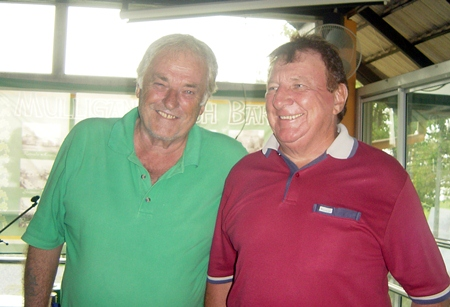 Tuesday's top two, Clive Hoseason & Brian Maddox.