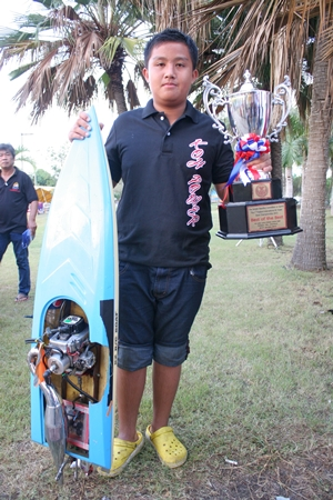 13-year old champion Chainarong Meemongkol.