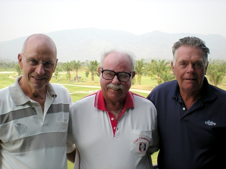 Svend Gaarde, Dave Richardson and Kjeld Ravn.