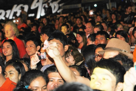 Fans flocked to the festival in their thousands to see the star music line-up.
