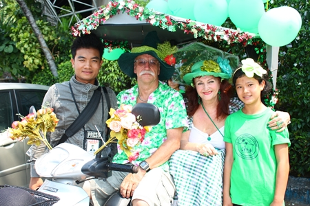 Pattaya Mail media celebrates St. Patrick's Day with everyone else in Pattaya.