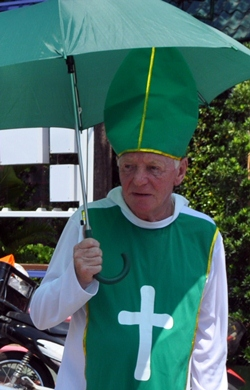 Saint Patrick will be in Pattaya to lead the parade.