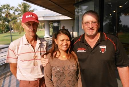 Frank Donnelly, Duangjai Tusagad & Peter Blackburn.