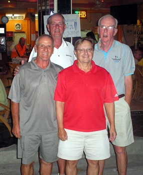 Horst Starchl, Lindsay Phillips, Harry Vincenzi and Jerry McCarthy.
