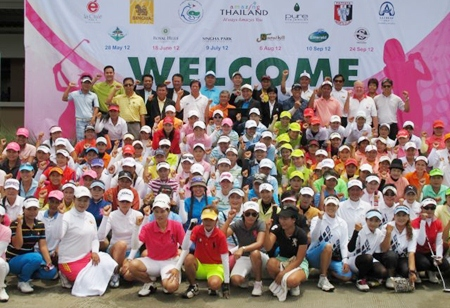Pattaya will host the 4th Thai Caddie Championship at Siam Plantation G.C.