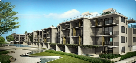 The Island Life Condo will be a 4-storey development with 78 units on Kai Bae Beach, Koh Chang.