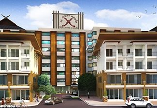 An artist's rendering shows the Diana Group's Na Lanna condo in central Pattaya.