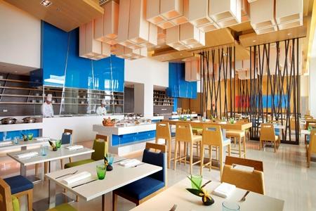Café G at Holiday Inn Pattaya.