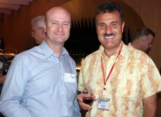 Neil Farrell (Elastomer Products) and Michael Diamente (Dana Spicer).